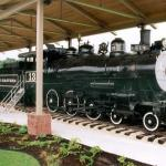 Outdoor Railroad Exhibit