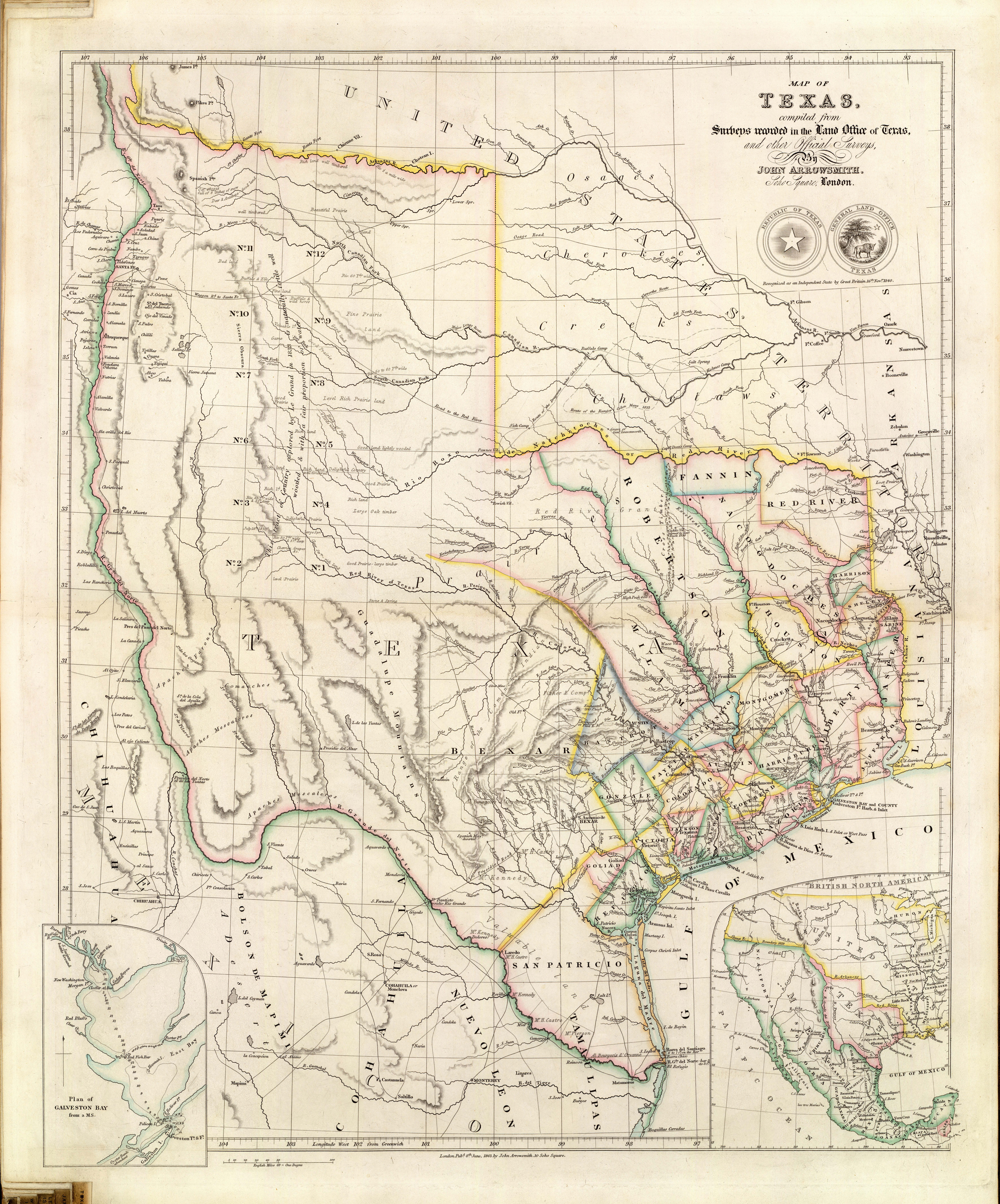 Imagining Texas: An Historical Journey With Maps | The History Center
