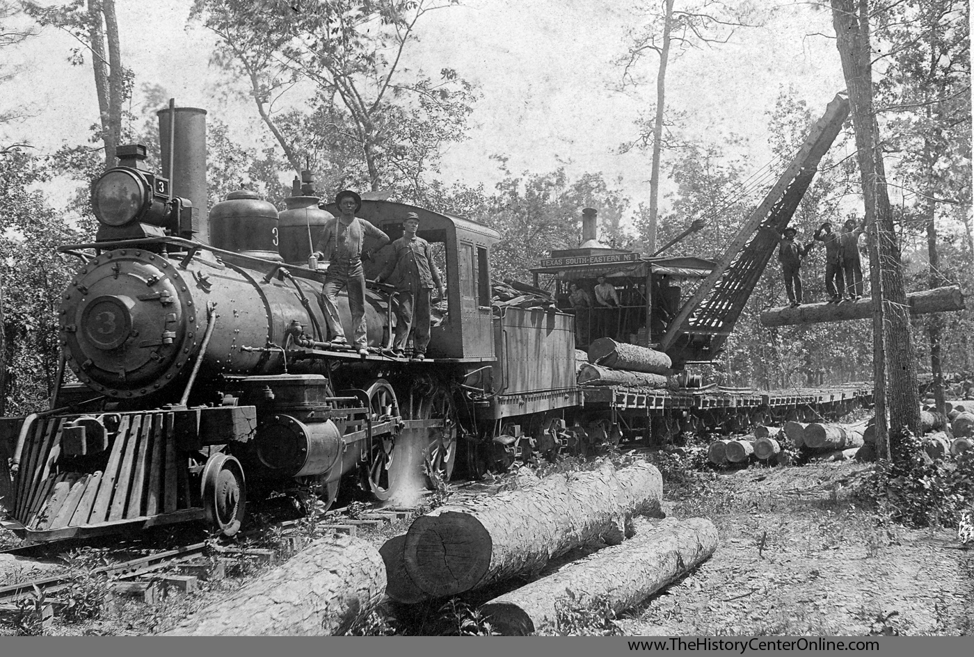 East Texas Railroad Photograph Selections The History Center